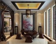 茶室设计效果图