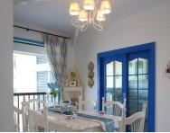 地中海风格餐厅昨晚家具图片
