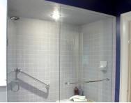 卫生间淋浴房隔断效果图欣赏