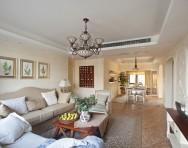 西班牙地中海风格两室两厅装修图