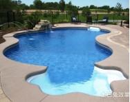 别墅游泳池设计图