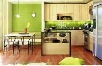 后现代风格绿色家庭餐厅装修效果图