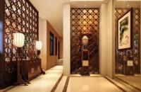 中式玄关装修效果图欣赏