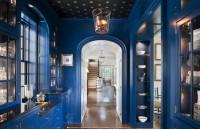 蓝色过道玄关装修效果图