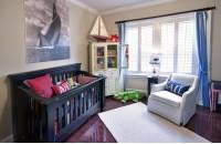最新儿童房窗帘装修效果图