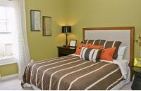 暖色调主卧室装修效果图大全