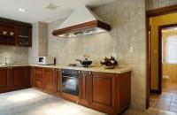 美式家装开放式厨房装修设计图