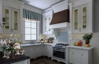 欧式风格开放式厨房装修效果图片