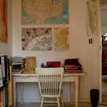 书桌装修效果图2238