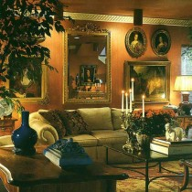 西式客厅装修效果图四3