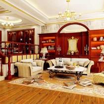 西式客厅装修效果图四2
