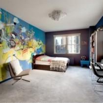 时尚二居室温馨客厅隔断装修效果图大全2012图片1