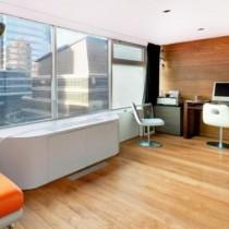 时尚二居室温馨客厅隔断装修效果图大全2012图片3