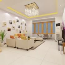 两室一厅客厅装修效果图大全2