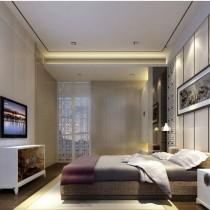 12万打造温馨浪漫现代风格二居客厅电视背景墙装修效果图2