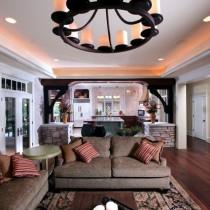 2室1厅浪漫地中海风情客厅装修效果图4