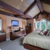 2室1厅浪漫地中海风情客厅装修效果图2