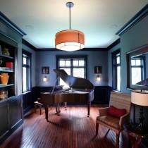 2室1厅浪漫地中海风情客厅装修效果图1