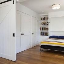 105平米二居室简约风格卧室装修效果图大全2012图片4
