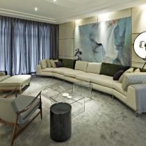 素雅内敛的客厅装修效果图大全2012图片8