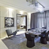 素雅内敛的客厅装修效果图大全2012图片4