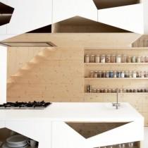 创意极简打造两室一厅餐厅装修效果图2
