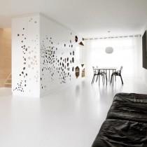 创意极简打造两室一厅餐厅装修效果图1
