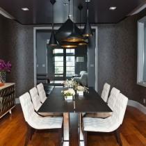 两室一厅冷色调客厅装修效果图大全2012图片1