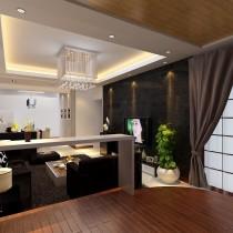 餐厅客厅装修效果图片欣赏1