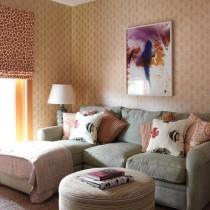 二室一厅装修风格 小客厅装修效果图2