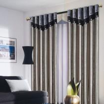 客厅窗帘装修效果图  2012年新款窗帘9