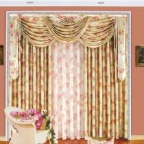 客厅窗帘装修效果图  2012年新款窗帘7