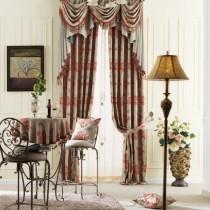 客厅窗帘装修效果图  2012年新款窗帘4