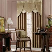 客厅窗帘装修效果图  2012年新款窗帘3