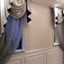 客厅窗帘装修效果图  2012年新款窗帘2