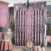 客厅窗帘装修效果图  2012年新款窗帘1