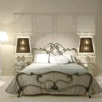 欧式卧室装修效果图 卧室橙色墙装修效果图3