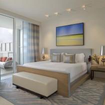 欧式卧室装修效果图 卧室橙色墙装修效果图1