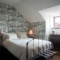 斜顶阁楼客厅沙发摆放装修效果图大全2013图片2
