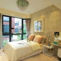两室一厅90平装修卧室效果图5