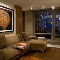 两室一厅90平装修客厅效果图欣赏5