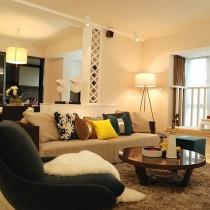 2012小客厅装修效果图 10款冬季最新客厅装修效果图5