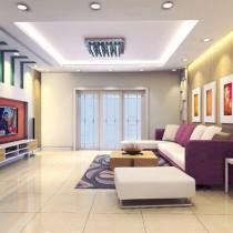2012小客厅装修效果图 10款冬季最新客厅装修效果图1