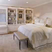 简约主卧室装修效果图大全2012图片 简约卧室飘窗装修设计装修效果图7