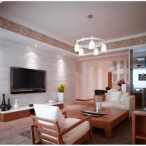 客厅装修效果图欣赏 50款电视背景墙装修效果图3