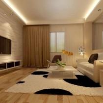 客厅装修效果图欣赏 50款电视背景墙装修效果图1