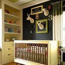 儿童房装修效果图大全2012图片  2012儿童房背景墙装修效果图10