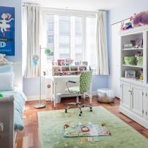 儿童房装修效果图大全2012图片  2012儿童房背景墙装修效果图6
