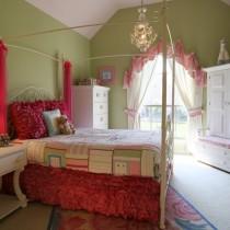儿童房装修效果图大全2012图片  2012儿童房背景墙装修效果图4