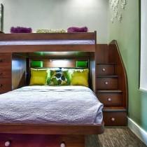 儿童房装修效果图大全2012图片  2012儿童房背景墙装修效果图1